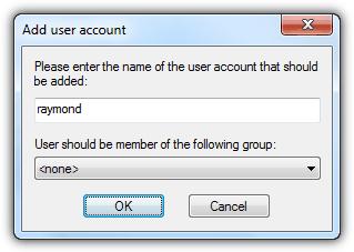 FileZilla добавление пользователя