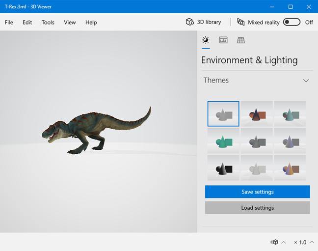 Приложение 3D Viewer из Windows 10