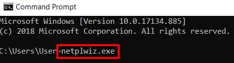 Запуск netplwiz.exe