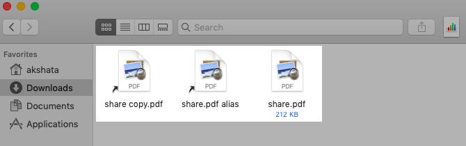 Ярлыки файлов в MacOS