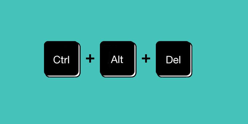 что за сочетание клавиш ctrl alt delete