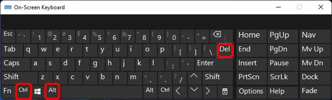 ctrl alt delete на клавиатуре