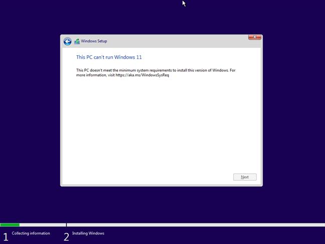 На этом ПК не работает Windows 11